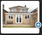 Single Storey Rear Extension Complete in Hasland
